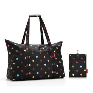 [プレミアムSALE]〔送料無料〕reisenthel Mini Maxi Travelbag dots ミニマキシ 折りたたみ トラベルバッグ ドイツ 買付 いい買い物の日 2018|airleaf