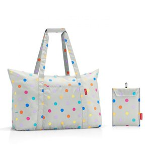 [SALE]〔送料無料〕reisenthel Mini Maxi Travelbag Stonegrey Dotsミニマキシ トラベルバッグ ドイツ 買付|airleaf