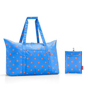 [プレミアムSALE]〔送料無料〕reisenthel Mini Maxi Travelbag Azure dots ミニマキシ トラベルバッグ ドイツ 買付 いい買い物の日 2018|airleaf