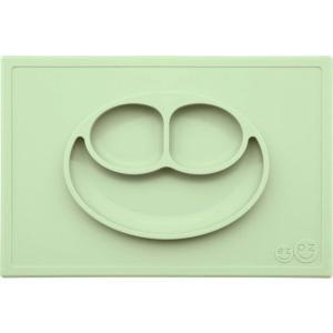 ezpz (イージーピージー) happy mat ミント 驚きの吸着でひっくり返らない! ベビー食器 シリコン製 ランチョンマット プレゼント ギフト|airleaf