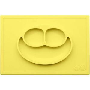 ezpz (イージーピージー)happy mat レモン 驚きの吸着でひっくり返らない! ベビー食器 シリコン製 ランチョンマット プレゼント ギフト|airleaf