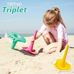 キュート Quut トリプレット Triplet メローイエロー QUT-005 キッズ スコップ 砂場 おもちゃ 海 アウトドア ひんやり 夏グッズ おしゃれ|airleaf