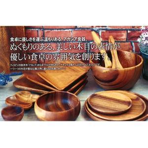木製アカシア食器 Oval Plate 30 おしゃれ かわいい 北欧 ナチュラル ロングオーバルプレート AC-1039m[当日発送可※条件あり※]|airleaf