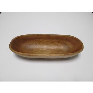 木製アカシア食器 おしゃれ かわいい 北欧 ナチュラル 小物入れ オーバルボール AC-3023m Oval Bowl 23アカシア プレート木目 木製 ウッド キッチン 洋食器|airleaf