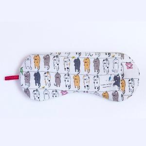 ソルトアイピロー(ラベンダー&カモミール入り) AW洗濯ネコ ホワイト アイピロー アイケア  プレゼント 2019 ひんやり 夏グッズ おしゃれ airleaf