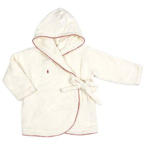 [キッズ・ベビー][送料無料]オルネット Oh dear パイルバスローブ レッド ベビー衣料 今治タオル ベビー ギフト プレゼント 出産祝い いい買い物の日 2018|airleaf
