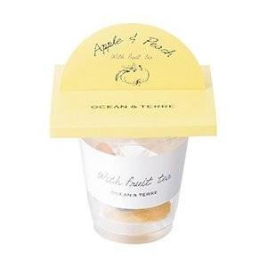 :With フルーツティー アップル&ピーチ 1個 紅茶 お茶 ティーバッグ フルーツティー プレゼント ギフト[ポイント消化]|airleaf