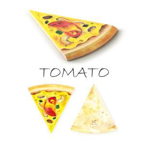 宅急便コンパクト送料無料 MEMO PAD PIZZA TOMATO PEN&DELI メモ帳 メモパッド かわいい  おしゃれ 文房具 ステーショナリー|airleaf