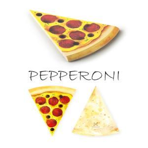 〔新商品〕MEMO PAD PIZZA  PEPPERONI PEN&DELI メモ帳 メモパッド かわいい ユニーク おしゃれ 文房具 ステーショナリー|airleaf