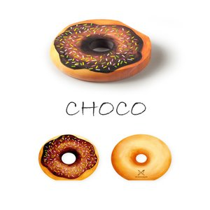 〔新商品〕MEMO PAD DOUGHNUT CHOCO PEN&DELI メモ帳 メモパッド かわいい ユニーク おしゃれ 文房具 ステーショナリー|airleaf