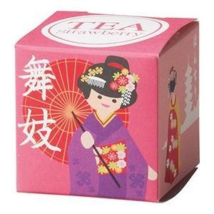 [新商品]:ジャパン ティーバッグ 舞妓(ストロベリー) 紅茶 お茶 いちご ストロベリー ティー 日本 和風 プレゼント ギフト いい買い物の日 2018|airleaf