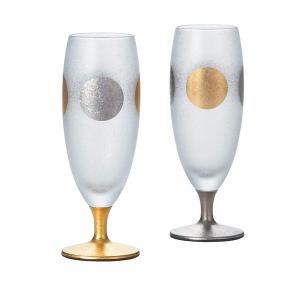送料無料 ▼日月ショートステムペアセット グラス ガラス  お酒 ドリンク プレゼント ギフト 父の日 プレゼント 2019 airleaf