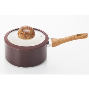 〔調理器具〕キッチンツール キッチングッズ フライパン 鍋 セラミックアルミ鍋片手18cm|airleaf
