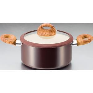 〔調理器具〕キッチンツール キッチングッズ フライパン 鍋 セラミックアルミ鍋両手20cm あったか 冬物|airleaf
