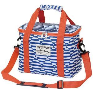 [新商品]ファニーフィールド クーラースクエアバック ボーダーネイビー BBQ  保冷バッグ おしゃれ 大きめ 大容量 ピクニック アウトドア レジャー キャンプ|airleaf