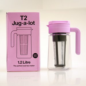 [送料無料][SALE]T2 Jug-a-lot 1.2Litre 海外製 ティーメーカー 紅茶 ポッドお茶 全7色 アイスティー ニューヨーク 買付|airleaf