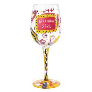 〔新商品〕[送料無料]Lolita ロリータ Birthday Girl おしゃれ ワイングラス[当日発送可※営業日内12時までのご注文に限る※] airleaf