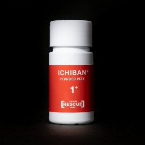 【イチバン+/ICHIBAN+】冬季オールラウンドワックス 5代目のイチバンはレスキュー最高の滑走性能、簡単で誰でも最高を体感するパウダーワックス