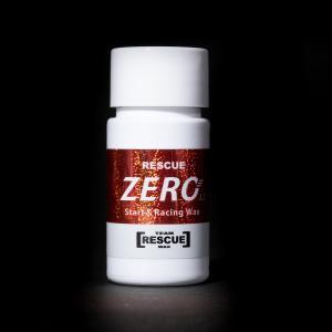 スタート&レーシングワックス【RESCUE ZERO】全雪質対応で10キロ以上の耐久性を持つフッ素レスワックス 施工はたったの10秒