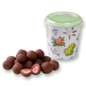 六花亭 ストロベリーチョコ ミルク フリーズドライのストロベリーにチョコレートがコーティング。   ...