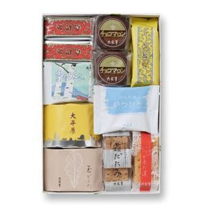 数あるお菓子の中からマルセイバターサンドをはじめ、大平原、霜だたみなどの人気菓子をお楽しみいただけま...