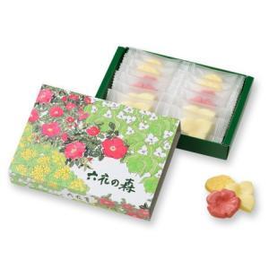 帯広の有名菓子店【六花亭】の『六花の森』。かわいらしいお花の形のチョコレートです。  ※こちらの商品...
