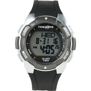 Time Piece(タイムピース) 腕時計 ランニングウォッチ 20LAP デジタル ブラック/グレー TPW-004BK airs-mall