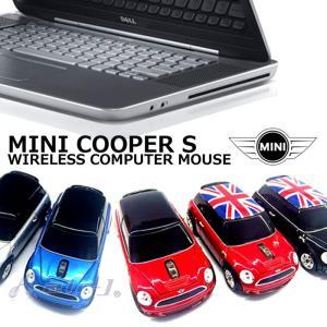 MINI 公式ライセンス品 ワイヤレス コンピューター マウス MINI Cooper