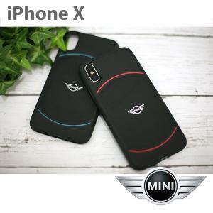 MINI(ミニ) 公式ライセンス品 iPhoneX ハードケース アイフォンX メンズ ブランド カバー アイフォンテン TPU かっこいい おしゃれ 可愛い|airs