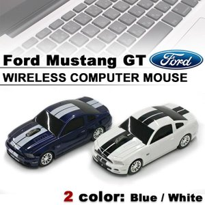 Ford 正規ライセンス品 Ford Mustang GT ワイヤレス コンピューター マウス フォード 全2色|airs