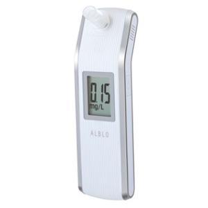 付属のマウスピースで直接吹き込むタイプのプロフェッショナルタイプのアルコールセンサー HC−211。...
