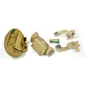 PVS-14型 3倍ブースター セット TAN  ARMY製|airsoftclub