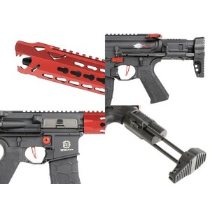 Leopard Carbine (ガンケース付DX 日本仕様) Red  Avalon製|airsoftclub|03
