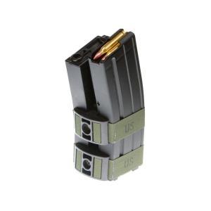 M16/M4用 電動給弾式 ダブルマガジン (800連 充電式バッテリー付) サウンドセンサー  BattleAxe製|airsoftclub