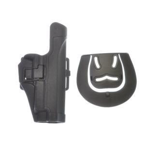 BlackHawkタイプSERPA CQCホルスター (P226) BK  BigDragon製|airsoftclub