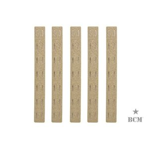 PTS BCM M-Lok レイルパネルキット 5.5in (5個入) FDE  PTS製|airsoftclub