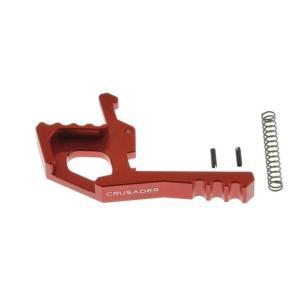 M4 アンビ タクティカルハンドル ラッチ (Red)  CRUSADER製|airsoftclub
