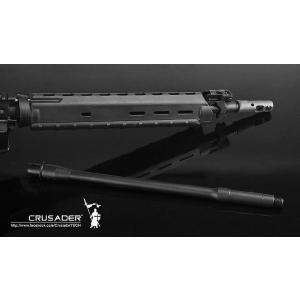 M4 電動ガン 16in アウターバレル アルミCNC MOE RifleLength ハンドガード対応 CRUSADER製|airsoftclub