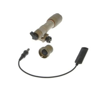 SureFire型 M600 SCOUT LEDフラッシュライト (TAN)  Clone Tech製|airsoftclub|03