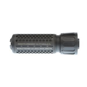 Knight's型 QDCサプレッサー 125mm CQB 14mm逆ネジフラッシュハイダー付 (BK)  Clone Tech製|airsoftclub|02