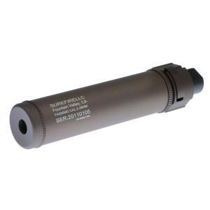 SureFire型 QD Mockサプレッサー 165mm Long 14mm逆ネジフラッシュハイダー付 (CB)  Clone Tech製|airsoftclub