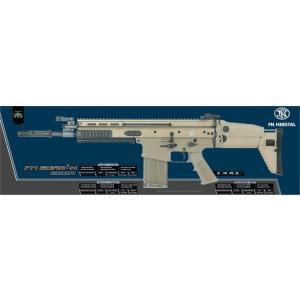 FN SCAR-H ガスガン (Mk17 日本仕様) FDE  CyberGun製|airsoftclub|12