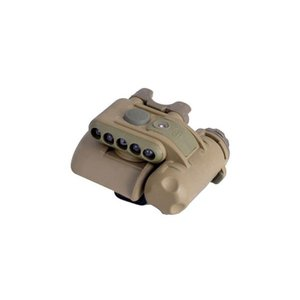 SF ヘルメット LEDライト Gen2 (TAN) w/Red LED  Element製 airsoftclub