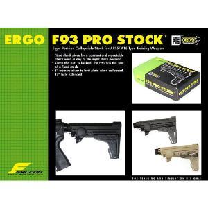 PTS-Falcon Ergo F93 Pro ストック DE (ガスガン) MAGPUL製|airsoftclub