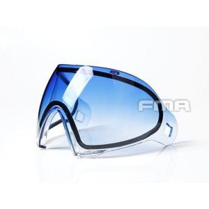 F1 フルフェイスゴーグル用 スペアサーマルレンズ (グラデーションブルー)  FMA製 airsoftclub