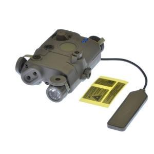 PEQ15LA5 LEDイルミネーター IRレンズ付 (FG)  FMA製|airsoftclub
