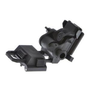 WILCOX型 L4G24 NVG ダミー ナイトビジョンマウント BK (軽量プラ製)  FMA製|airsoftclub