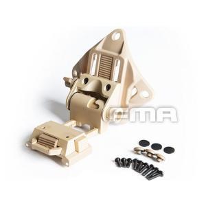 Wilcox型 L4G19 ナイトビジョン ヘルメットマウント PVS15/PVS18/GPNVG18対応 (DE)  FMA製|airsoftclub