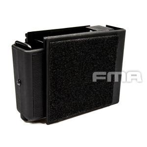 JacketedBag オートローディング 9mmピストル マグポーチ Molle (BK)  FMA製|airsoftclub
