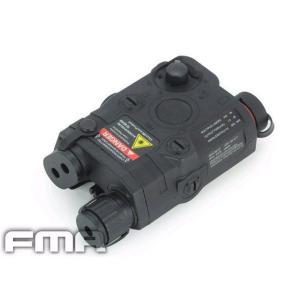 PEQ15 バッテリーケース REDレーザー付 (BK) FMA製|airsoftclub